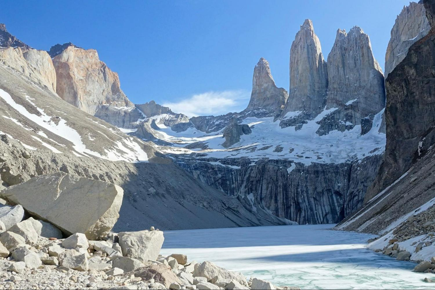 Doing 'The W' in Torres del Paine
