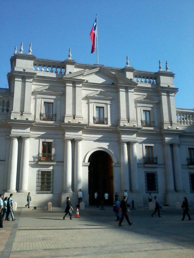 A tour inside Palacio de La Moneda