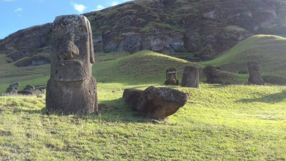 moai statues are mystical and unique