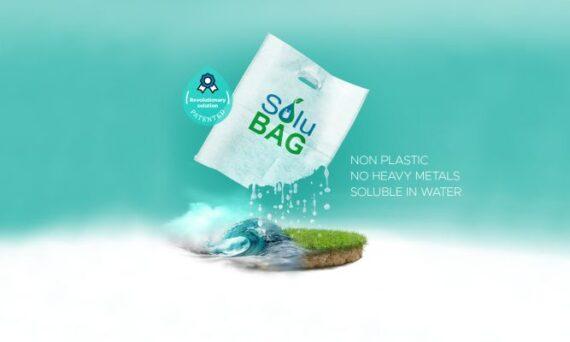 bag artwork biodegradable