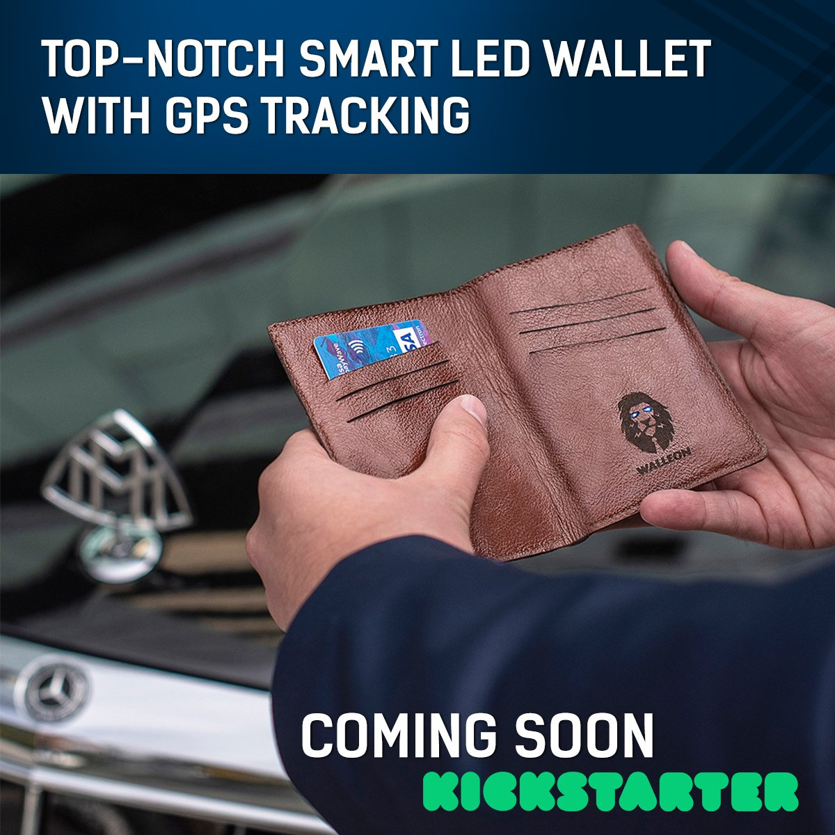 Walleon GPS Tracking Wallet